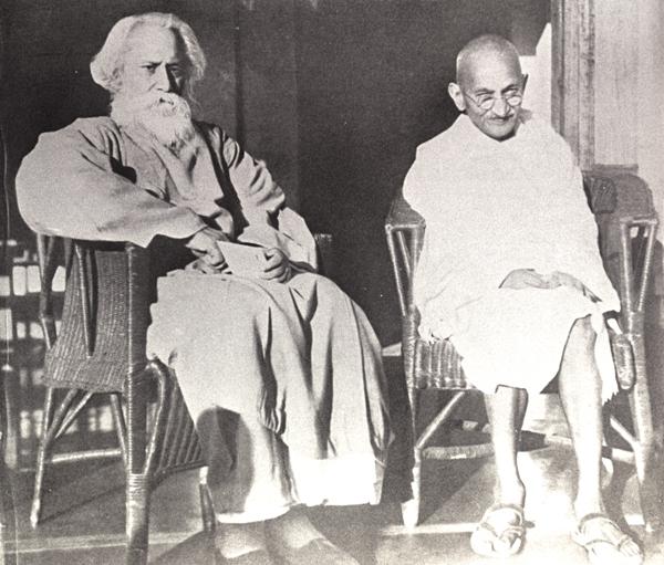 Rabindranath Tagore gandhi