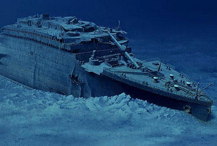Titanik 20 yıl sonra tamamen yok olacak