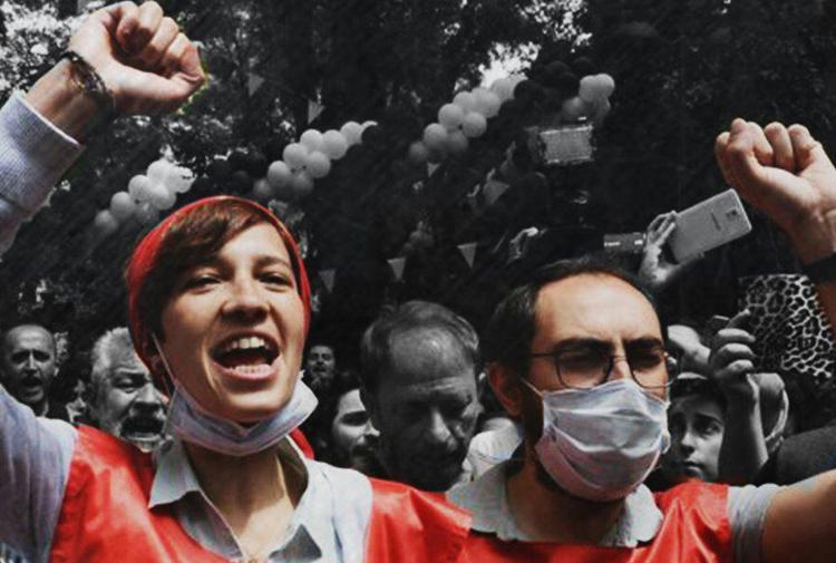 Hatay'da Nuriye Gülmen Ve Semih Özakça'nın Mahkemesine Çağrı Çalışması