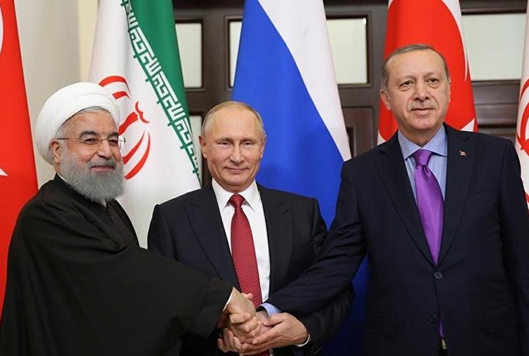 Erdoğan, Putin Ve Ruhani Soçi'de Bir Araya Geldi