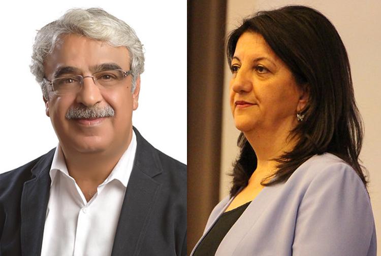 HDP'nin yeni Eş Genel Başkanları Pervin Buldan ve Mithat Sancar oldu