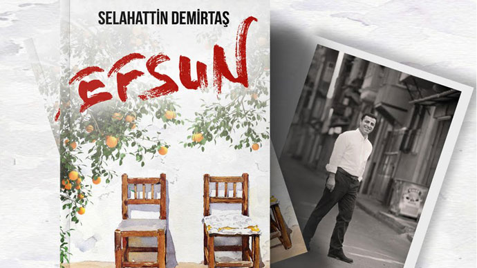 Demirtaş'ın yeni romanı 2 Ekim'de raflardaki yerini alacak