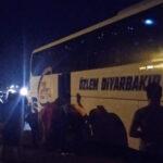 Antalya'dan Diyarbakır'a giden otobüse saldırı: İki yaralı