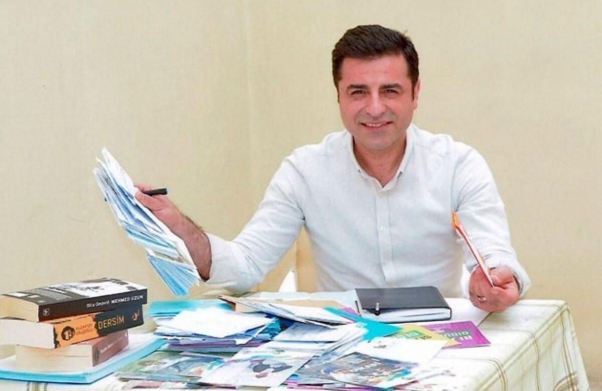 Demirtaş da meclisi işaret etti: HDP elbette muhataptır