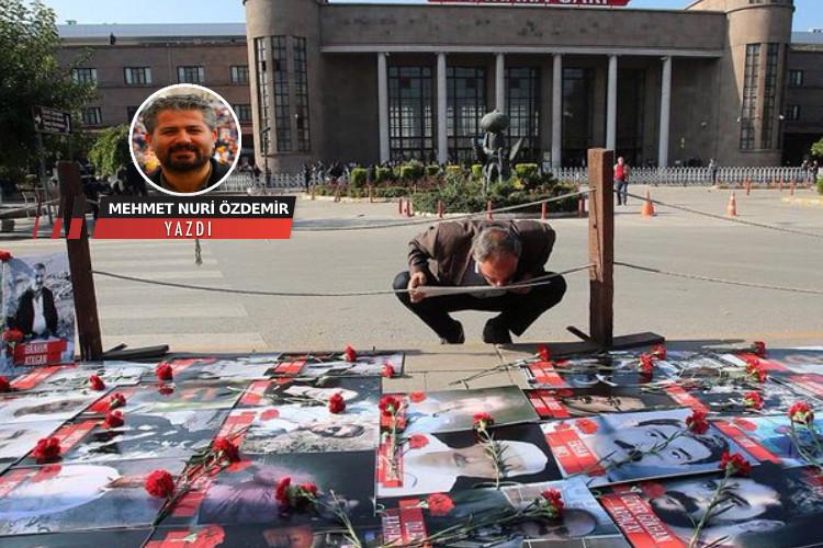 Ankara Garı'nda kalan barışın anısına