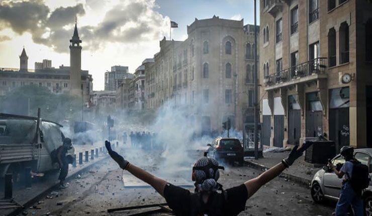 Beyrut'ta protestoculara ateş açıldı: 6 ölü, 60'tan fazla yaralı