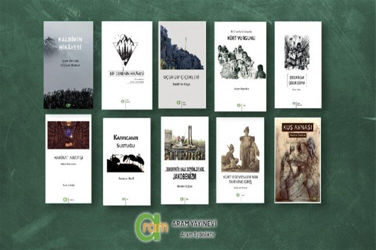 Aram Yayınevi'nden 10 yeni kitap
