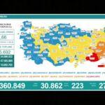 24 saatte Corona virüsünden 223 kişi hayatını kaybetti