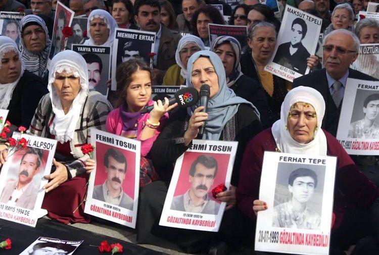 Cumartesi Anneleri Fehmi Tosun için adalet istedi