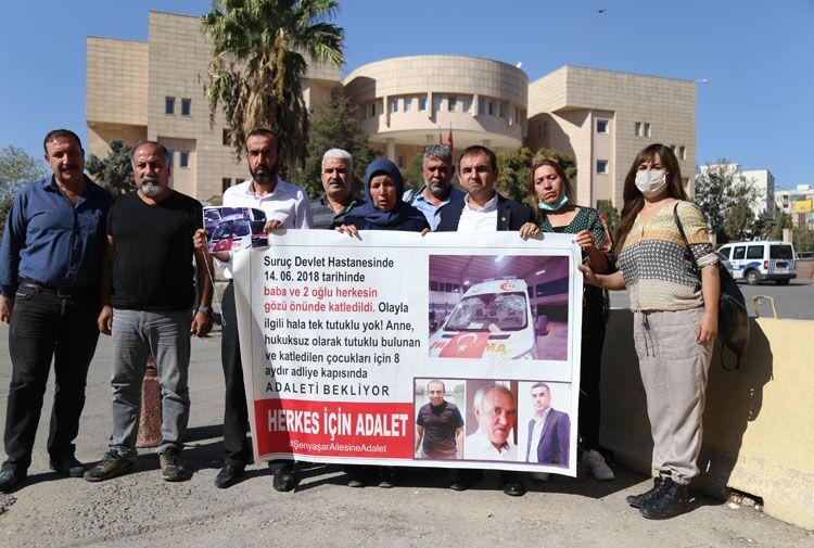 EMEP Genel Başkanı Akdeniz'den Şenyaşar ailesine ziyaret: Adaleti birlikte getireceğiz