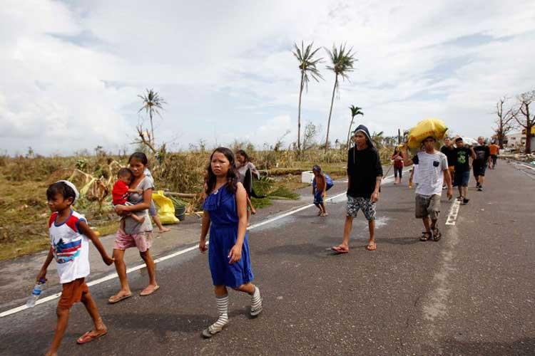 Filipinler'de tayfun: En az 9 ölü, 11 kayıp