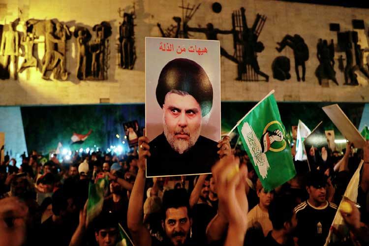 Irak'taki seçimin galibi Sadr oldu
