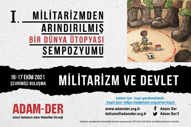 ADAM-DER'den militarizm sempozyumu